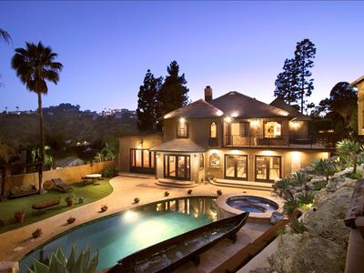 Photo for The Best of La! A Spanish Architectural Masterpiece With Pool, Hot Tub, Yard