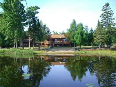Photo for Secluded 4BR House on Lac Vieux Desert w/370 Feet of Lakefront-Near Land O'Lakes