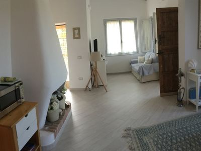 Photo for Villa completely renovated and refurbished, in complex 300 from the sea.