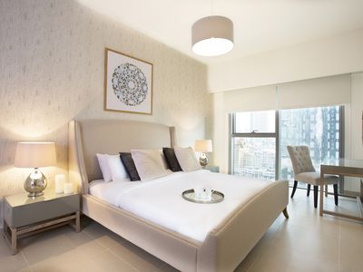 Photo for Contemporary One Bed Apartment, Dubai Financial District