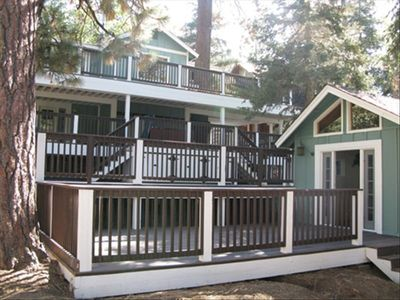Photo for Walk to bear mountain,Large Cabin, Separate Guest House, Jacuzzi, 3rd NIGHT FREE