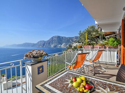 Photo for Villa Gisella B: A bright apartment which faces the sun and the sea, with Free WI-FI.