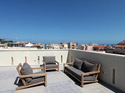Photo for AMAZING DUPLEX PENTHOUSE WITH TERRACE YAFO VIEW