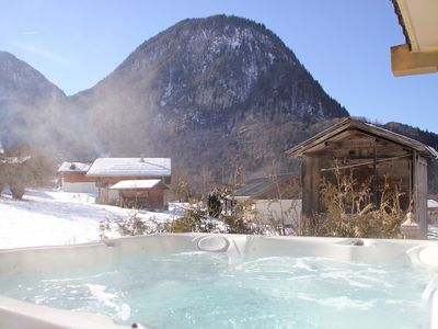 Photo for Charming cottage with private SPA Grand Massif
