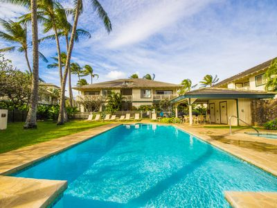 Photo for Beautiful 6 br for 16 Poipu Kai villa!