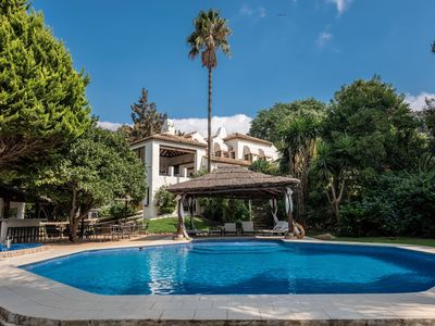 Photo for Luxury villa with apartment and luxury facilities near Casares