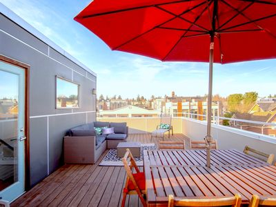 Photo for Ballard Oasis: Stylish and Modern w/ Rooftop Views - PERFECT FOR STAYCATIONS FOR THE ENTIRE FAMILY