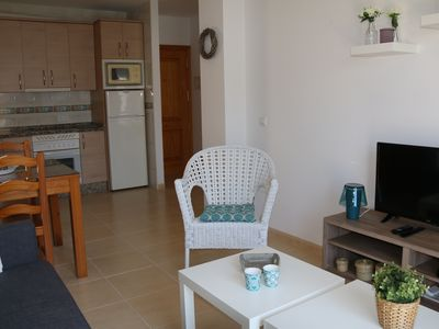 Photo for Andaluz Apartments - TOR08 - Nerja centre - air con - Wifi - parking - 1 bed