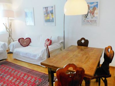 Photo for Apartment Chesa Sur Val 13 in St. Moritz - 4 persons, 1 bedrooms