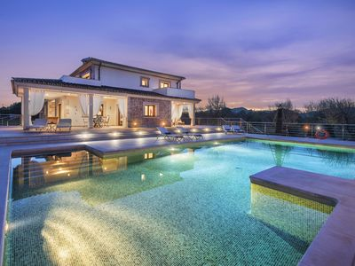 Photo for SPECTACULAR VILLA MAGNUS WITH LUXURIOUS POOL&SAUNA