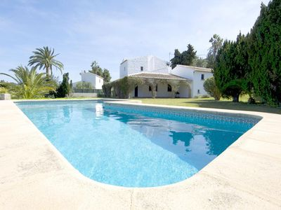 Photo for 5 bedroom Villa, sleeps 13 with Pool and Walk to Shops