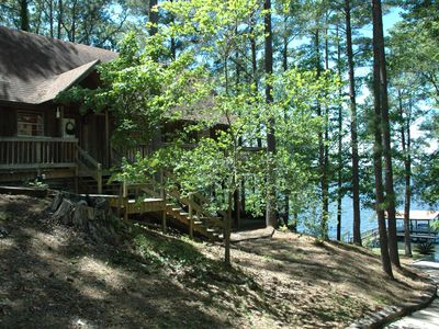 Some might ask why... we say Y Knott?!  Lake Front home with boat launch.