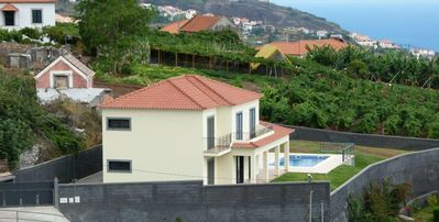 Photo for Traditionally Built Modern 4 Bedroom Holiday Home In Estreito da Calheta