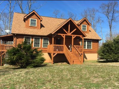 Photo for **LIKE NEW GORGEOUS LOG CABIN HOME IN GATED PRIVATE COMMUNITY!!**