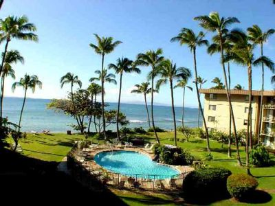 Photo for Beachfront at Kana'I a Nalu -  VRBO PRICES from $139/nt ! FREE PRIVATE WIFI!