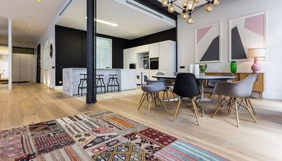 Photo for Homes In Blue - Apartment with 4 bedrooms, 3 bathrooms and 1 toilet with capacity for 6 people, located in the Salamanca district of Madrid.