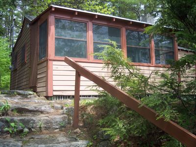 Photo for Pristine Lakefront.  Sleeps 4. Wilson Lake.