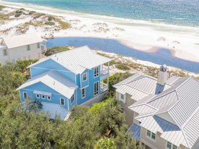 Photo for Barefootin - Gulf Front, Gulf Views, Heated Community Pool, Old Florida Beach!