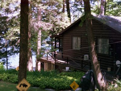 Photo for 2BR Cabin Vacation Rental in Huletts Landing, New York