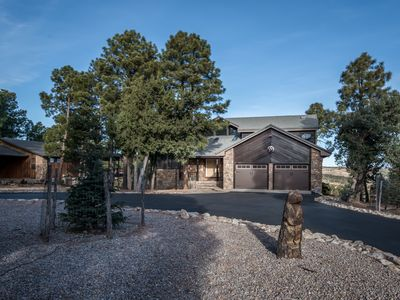 Photo for Spacious Alto Village Golf & Country Club Area Cabin w/ Free WiFi & Fireplace