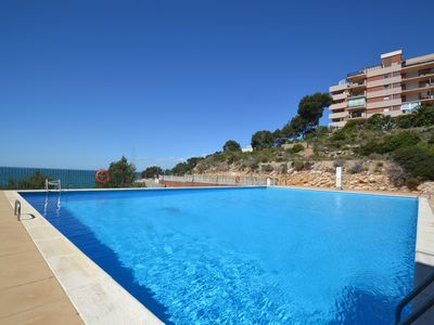 Photo for Cabo Palos V:2 bedrooms,Wifi & parking included- sw pool, 500m from the beach,close to the centre