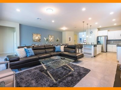 Photo for Windsor at Westside 81 - villa with pool, game room & themed bedrooms near Disney