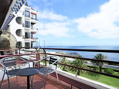 Photo for 2BR Apartment by the beach with sea view and pool, Sao Pedro EstoriL-CHECKINHOME