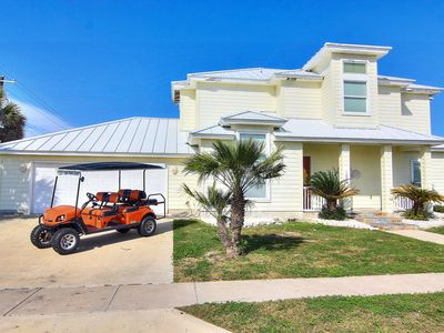 Photo for New Listing: Golf Cart Included, Boardwalk to Beach, Shared Pool, Ocean Views