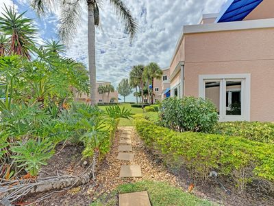 Photo for Unit #109 Sand Cay Beach Resort Pool and Garden View