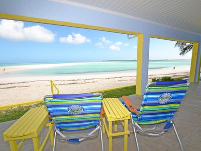 Photo for Step off your porch and onto the Beach! 1 Bed / 1 Bath Cottage in quiet location