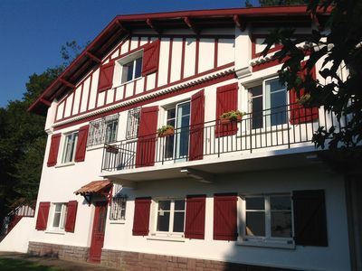 Photo for Large Basque house for 12 to 14 people. 500m from the village of Ascain