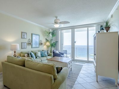 Photo for Beachfront Condo with Stunning Views! Private Balcony Overlooking the Navarre Beach! Great Resort Amenities!
