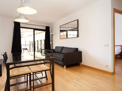 Photo for Guell Modern apartment in Carmel with WiFi, air conditioning, balcony & lift.