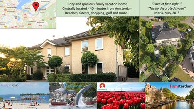 Photo for Luxurious villa for 8-20 people close to Amsterdam and only 7 km from the beach