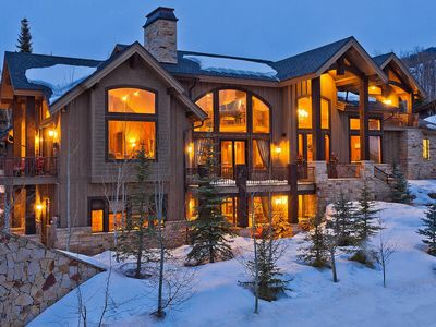 Photo for Ski-in Ski-Out Home 7bdrm sleeps 18+ Canyons Park City Mountain - 8600 SF