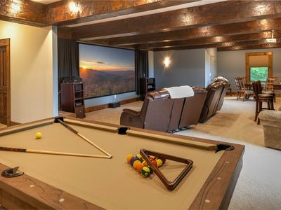Photo for Luxury Vacation Home w/ King Suites, Theatre Room, Lake & River Access, Pool Table, Club Privileges