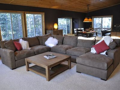 Photo for Tahoe Donner Luxury 4 BR House w/ Hot Tub and Chef's Kitchen (Sleeps 10-12)