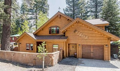 Photo for Spacious Family Friendly Cabin, Lakeview, Walk to Beach, Creekside Spa