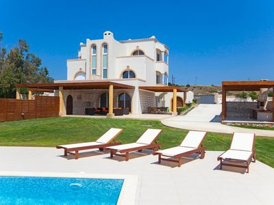 Photo for Villa Argon is a bright and vibrant home, hugging the glittering ocean shore, offering a majestic, d