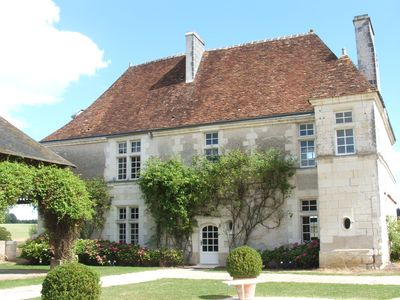 Photo for Group accommodation 32 people - LOCHES (37600) - MANOIR DE LA ROUSSELLIERE
