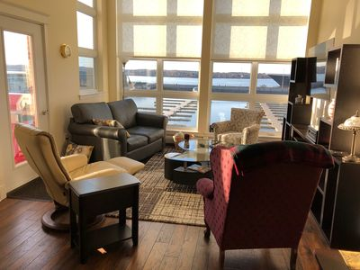 Photo for Exquiste 2 bedroom condo overlooking the Charlottetown Harbour.