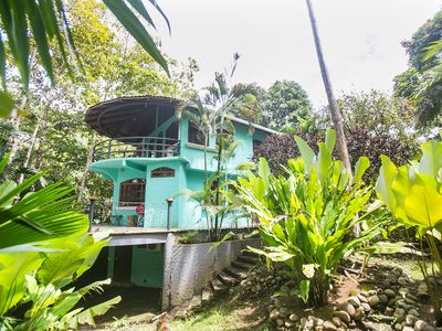 Photo for Jungle retreat surrounded by nature with a private pool and creek