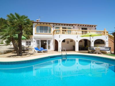 Photo for Vacation home Villa Paradise in Moraira - 4 persons, 2 bedrooms