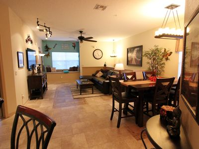 Photo for Whimsically decorated 3 bedroom condo only 2 miles from Walt Disney World