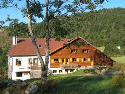 Photo for Chalet style apartment in renovated farm, all mod cons, 2952 feet altitude