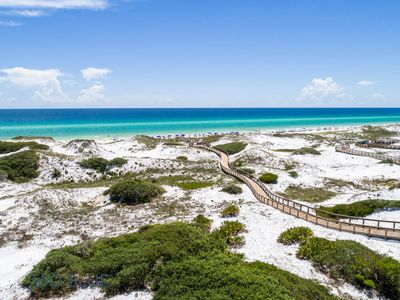 Photo for Executive Access Home! Views of Gulf & Coastal Dune Lakes!