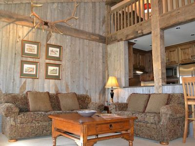Photo for Phlox 2523: 2Br+Loft - The Aspens -Updated Condo with Western Charm -Modern Kitchen -Deck on Creek