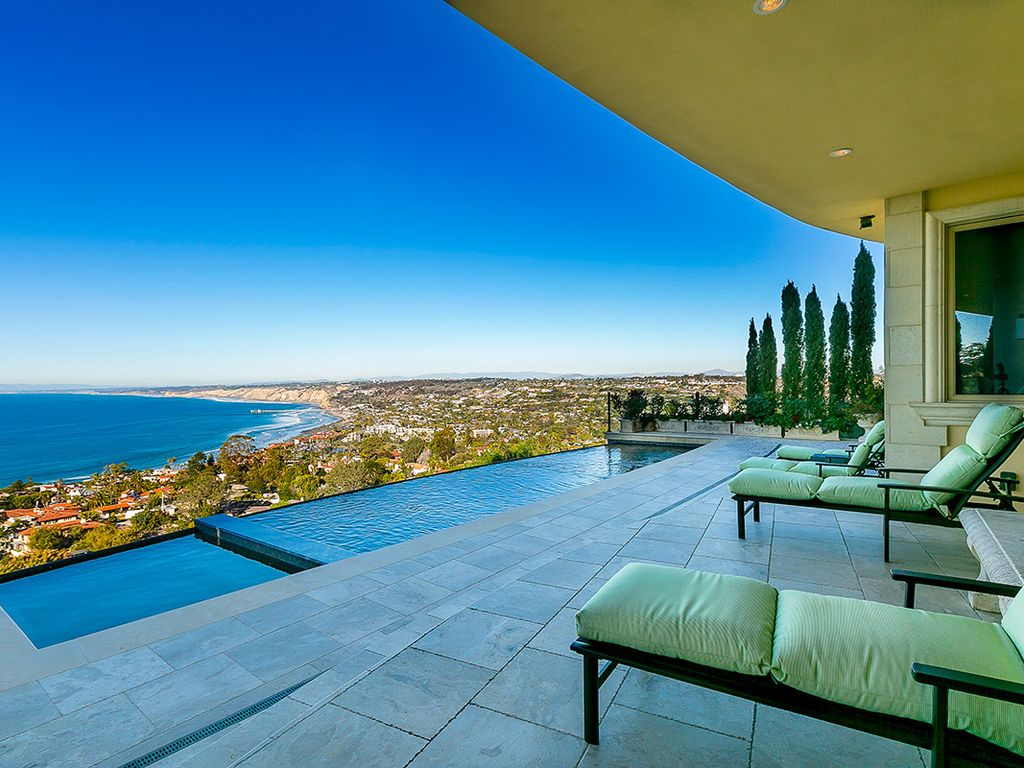 Hillside california home with gorgeous outdoor spaces - Property Image 5 Hillside Home With Infinity Pool Heated Pool Outdoor Kitchen