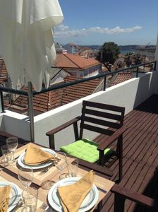 Photo for Large terrace, beautiful view in the heart of Lisboa