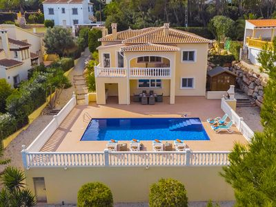 Photo for Villa Llesna in Javea, sleeps 10 people, with air conditioning, pool and Wifi